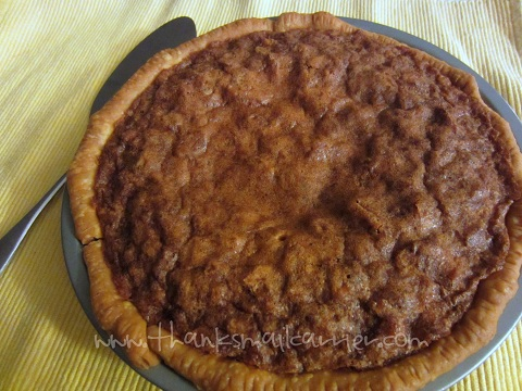chocolate walnut pie recipe