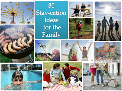 30 Staycation Ideas for the Family by The Shady Porch