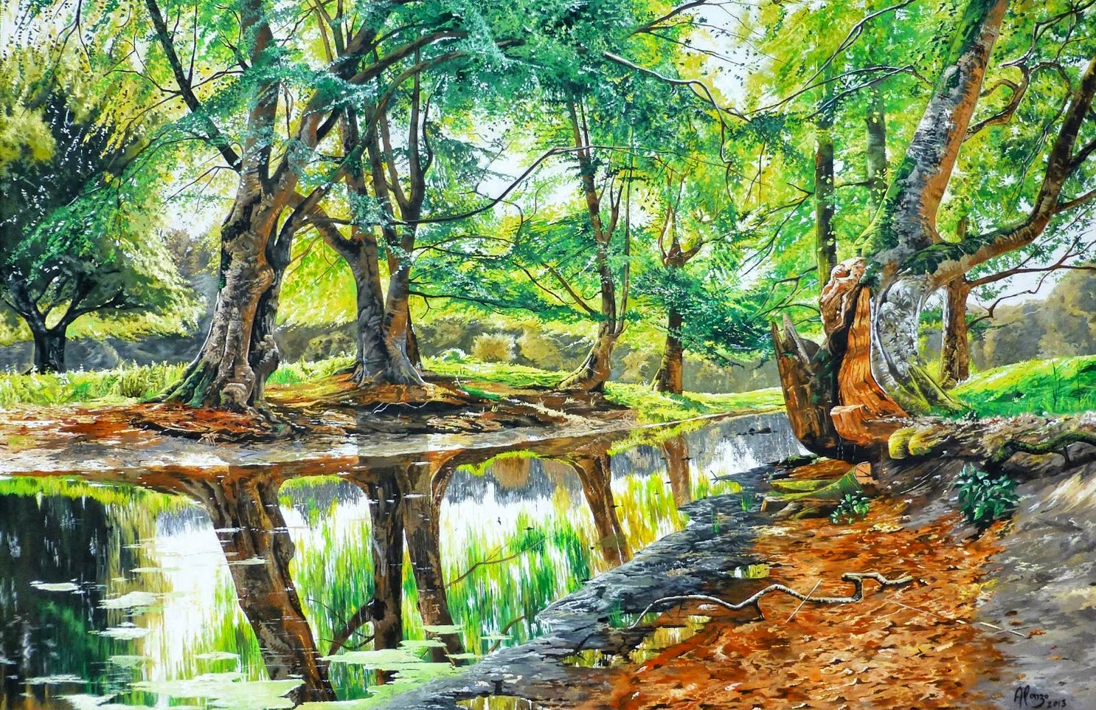 paisajes-naturales-pintados