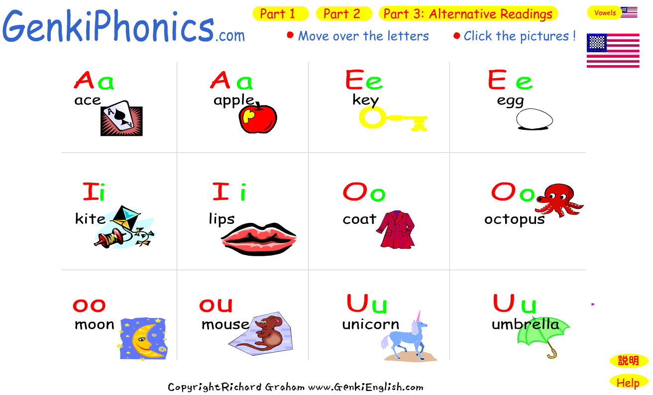 Long And Short Vowel Sounds on phonetic o worksheets