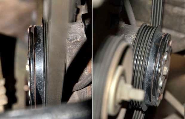 Kompressor AC Van Belt Mobil
