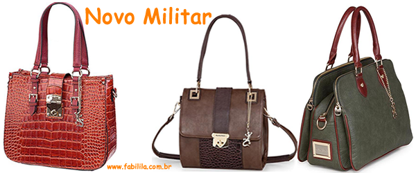 bolsas estilo novo militar inverno 2013