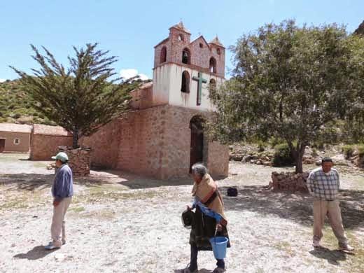 Kapelle in Quillacas