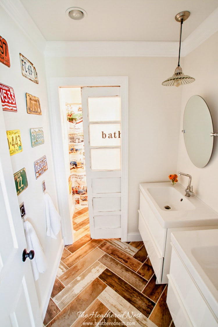 19 kids diy bathroom design ideas and counting a curated for Spring bathroom ideas