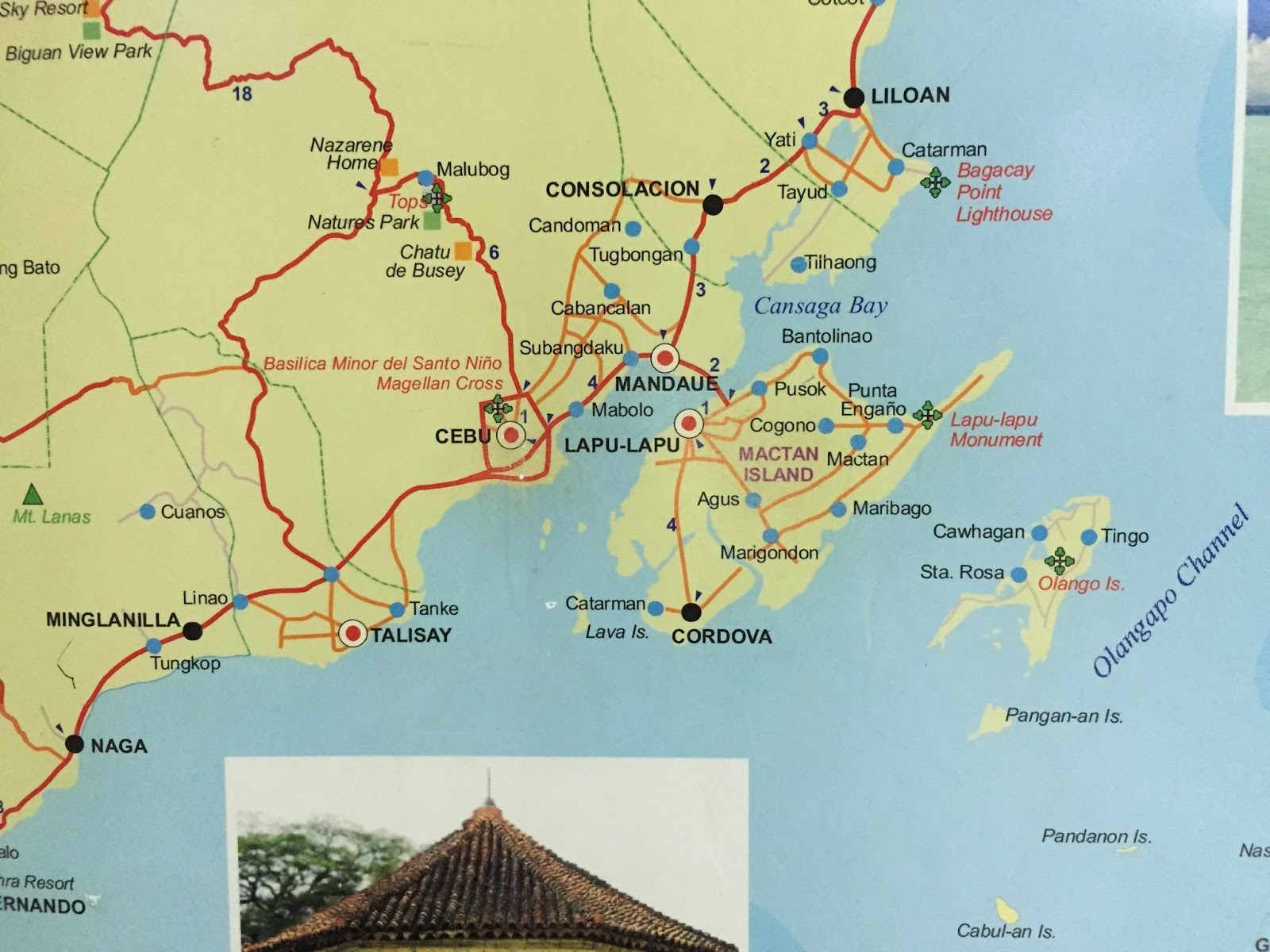 Island Shrine Map