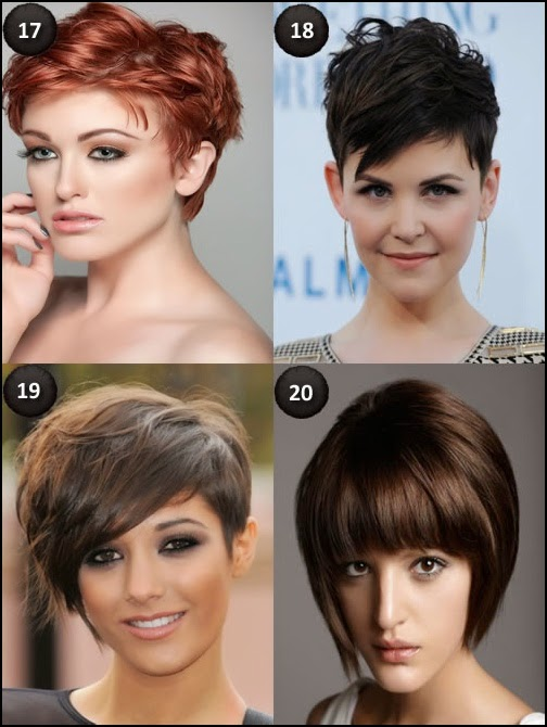 20 Short Hairstyles for Oval Faces - Hair Fashion Online