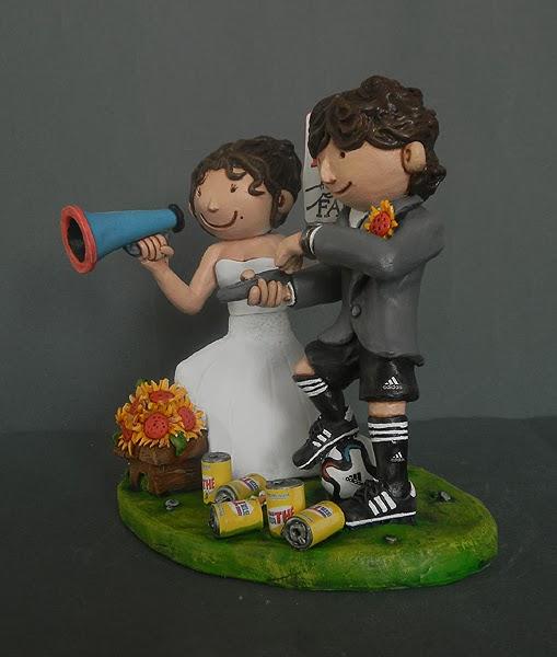 cake tops regali di matrimonio sposi sulla torta sposini nozze orme magiche