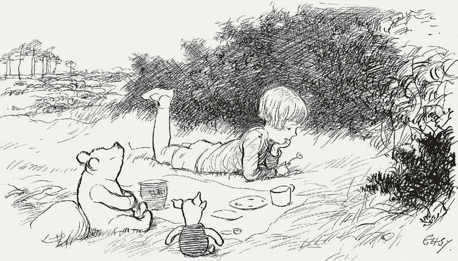 """15 Incredibly Wise Truths We Learned From Winnie The Pooh - """"Sometimes the smallest things take the most room in your heart."""""""