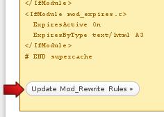 setting wp super cache update 2 Cara Baru Setting Plugins WP Super Cache
