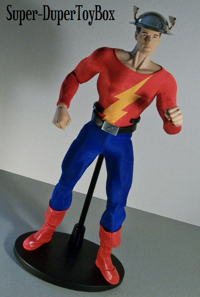 Super Dupertoybox Dc Direct Deluxe Golden Age Flash