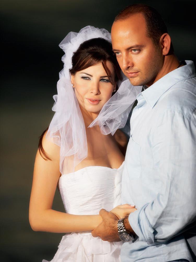 صور زفاف المطربة نانسي عجرم وزوجها