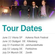 Black Country tocarán el jueves 23 de junio en el Azkena Rock Festival de Vitoria