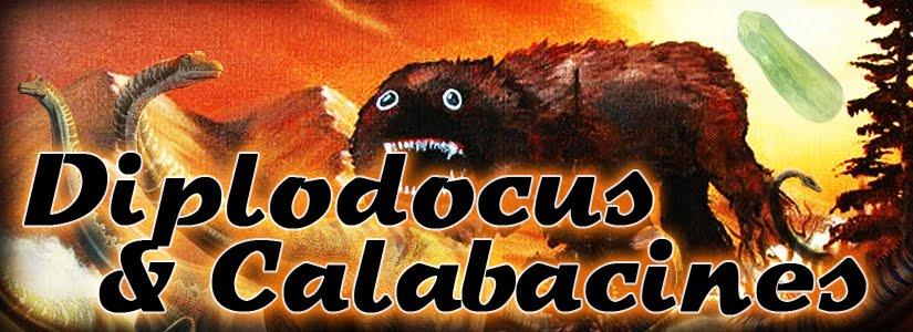 Diplodocus y Calabacines