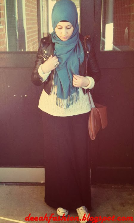Gaya Sporty Dengan Jilbab Boyish Style