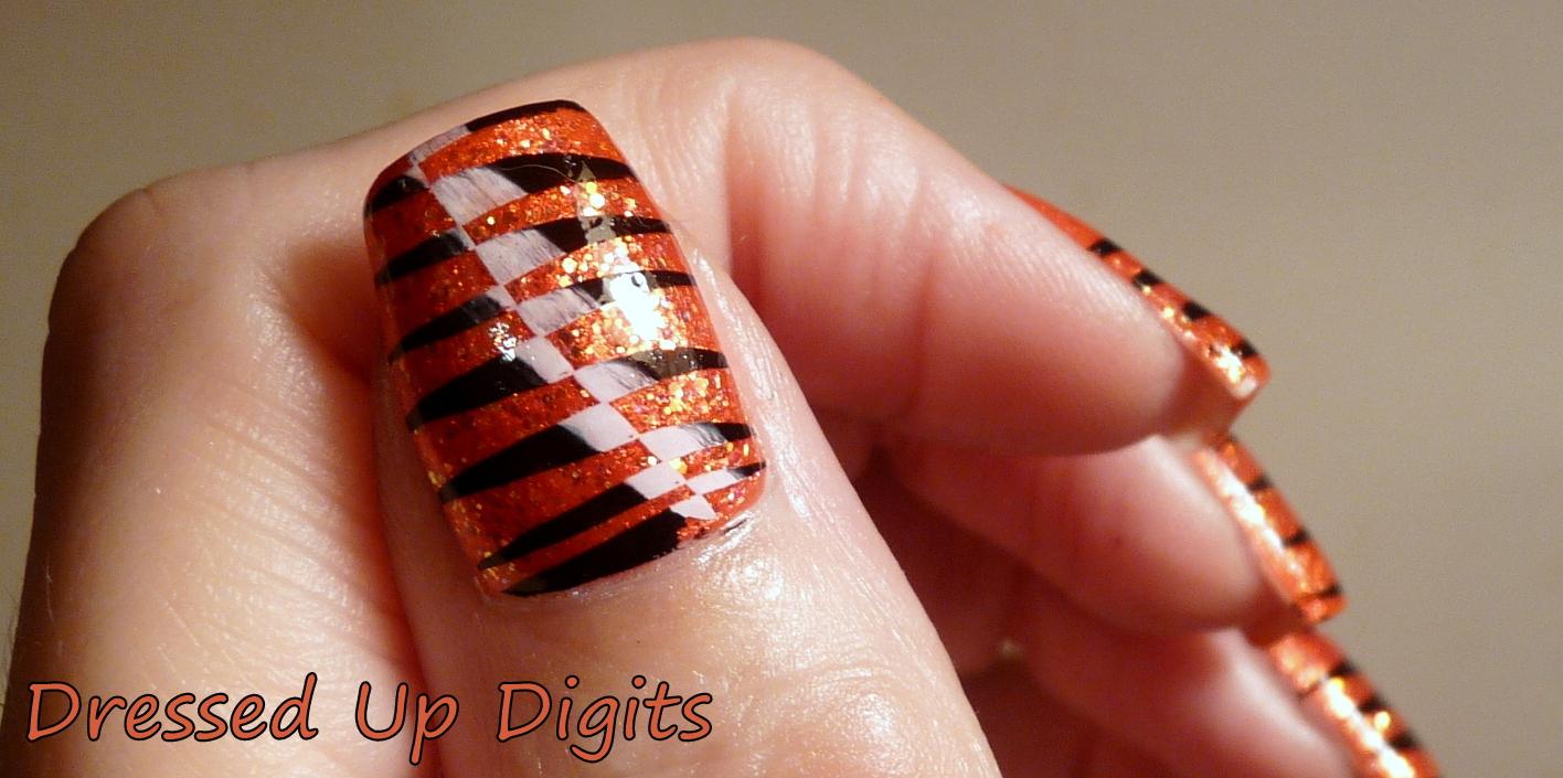Cincinnati Bengals Nails   Best Nail Designs 2018