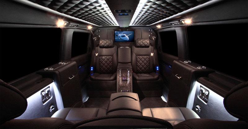 Passion for luxury mercedes viano by carisma auto design for Interior mercedes viano