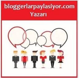 bloggerlarpaylasiyor.com Yazarıyım :)