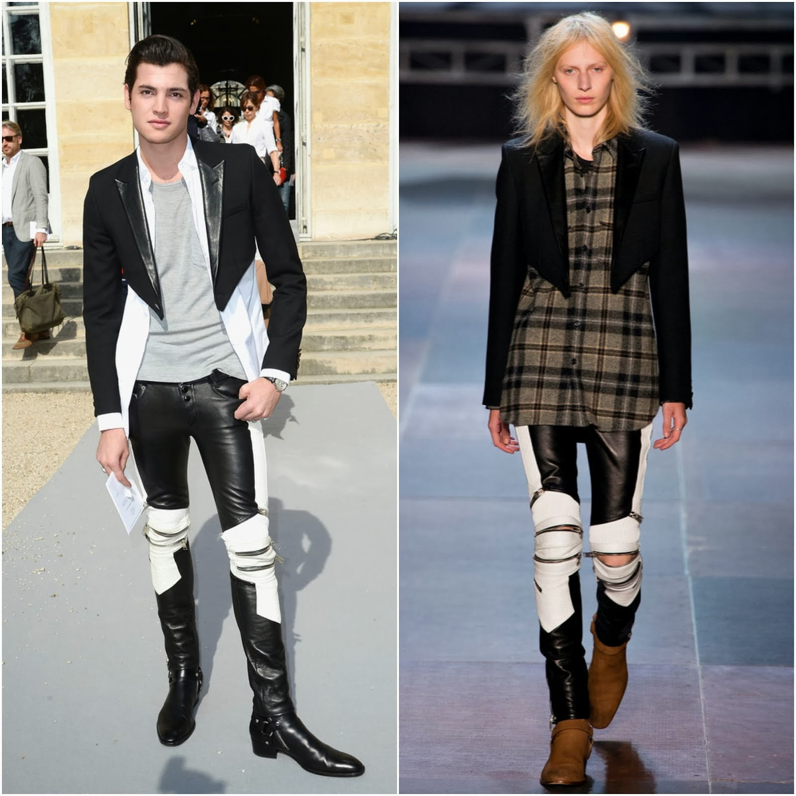 Peter Brant Jr in Saint Laurent - Christian Dior Spring Summer 2014 / 00O00 Menswear Blog oooooh 000000h London
