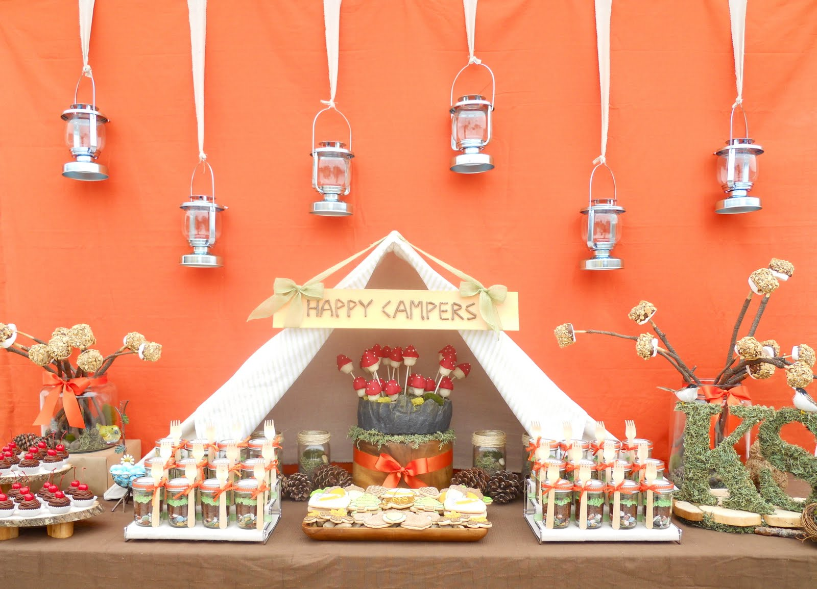 Oh Sugar Events Happy Trails To You A Camping Themed