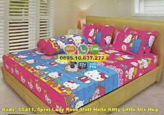 Harga Sprei Lady Rose Motf Hello Kitty Little Mis Hug Jual