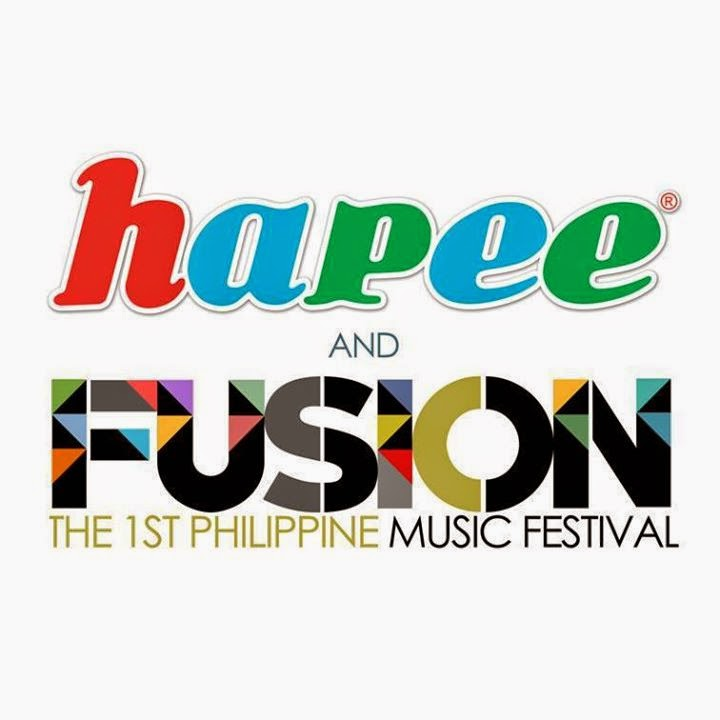 Party with Hapee and FUSION - The 1st Philippine Music Festival