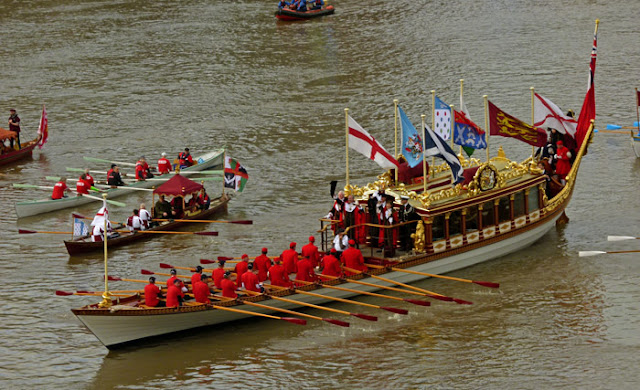 QRB Glorianna, Lord Mayor, livery craft, London