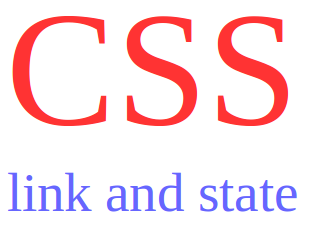 css mengatur tampilan link