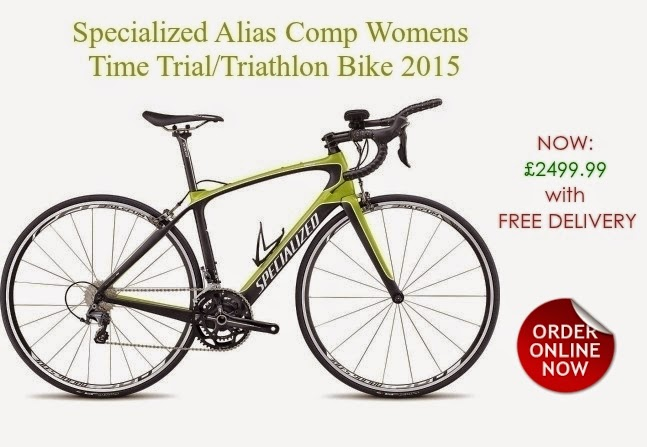 2015 Specialized Alias Comp Time Trial/Triathlon Bike for Womens