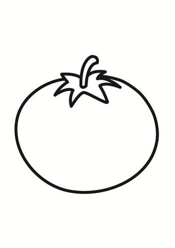 Maestra 2011 dibujos para colorear ingredientes del gazpacho andaluz - Tomate dessin ...