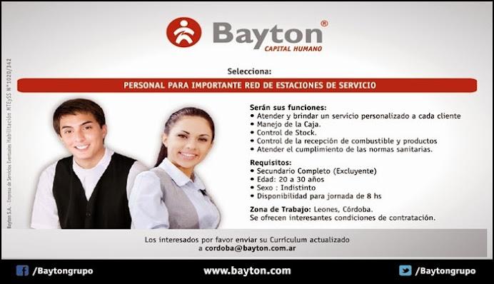 ESPACIO PUBLICITARIO: BAYTON
