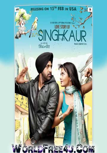 Poster Of Singh VS Kaur (2011) In 300MB Compressed Size PC Movie Free Download At worldfree4u.com