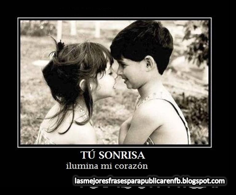 Frases De Amor: Tu Sonrisa Ilumina Mi Corazón