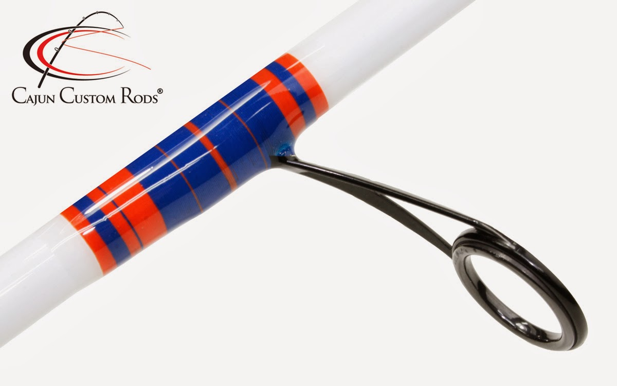 Cajun custom rods florida gators cajun custom rods for Custom fishing poles