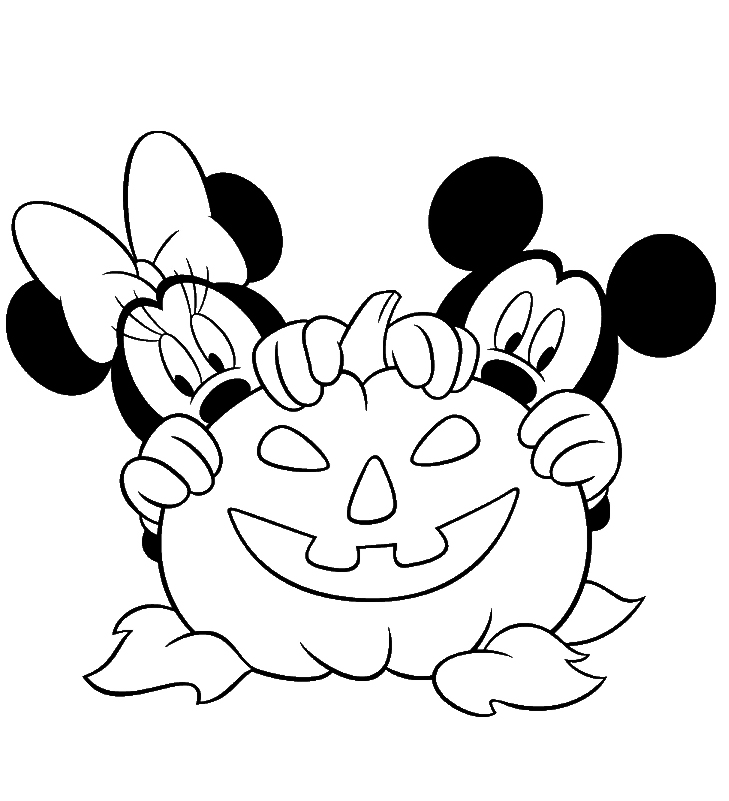 Minnie Mouse Coloring Pages To Print For Free
