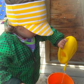 peps meps skärmmössa skärmpannband sy tutorial beskrivning barnkläder ränder polarn och pyret