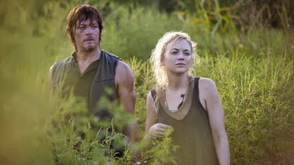 Daryl y Beth 4x10 The Walking Dead