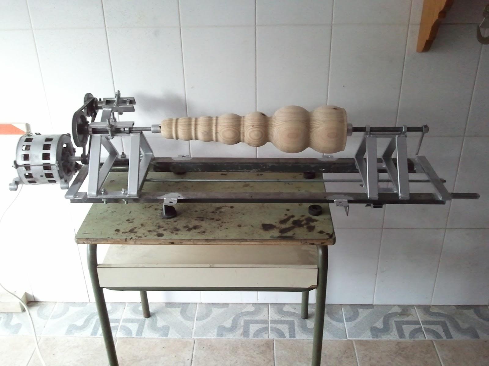 Como hacer un torno para madera