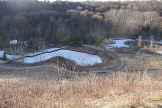 Evergreen Brickworks lookout point overseeing Don Valley by garden muses: a Toronto gardening blog