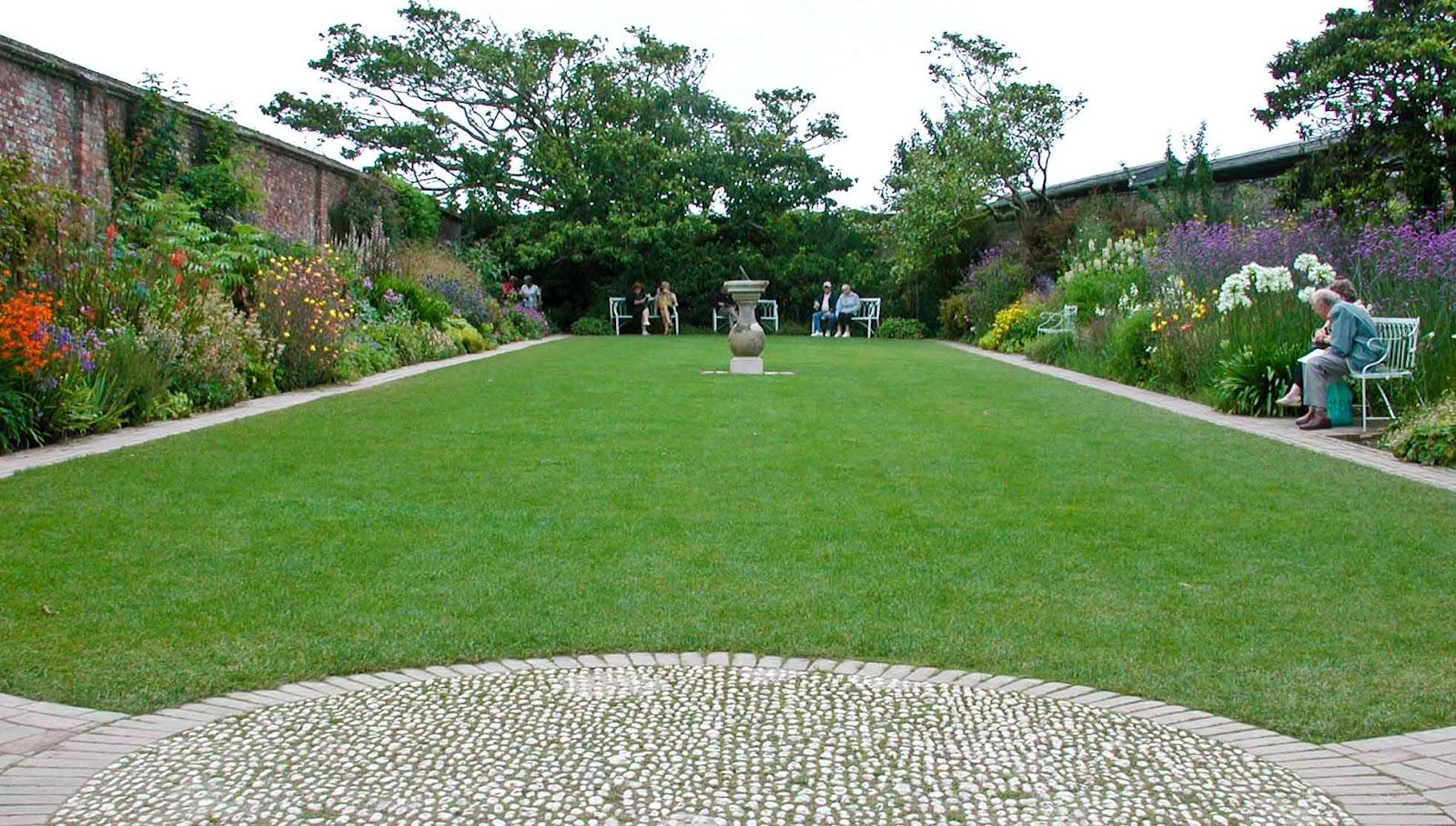 The Sundial Garden At The Lost Gardens Of Heligan..by ME!