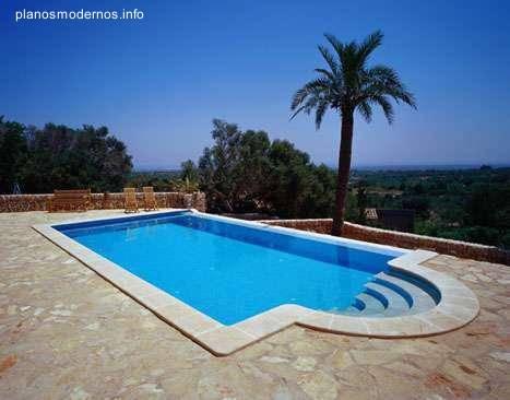 Arquitectura de casas informaci n sobre proyectos de for Modelos de casas de campo con piscina