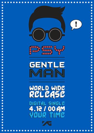 Psy Gentleman teaser poster