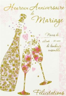 Anniversaire de mariage Texte