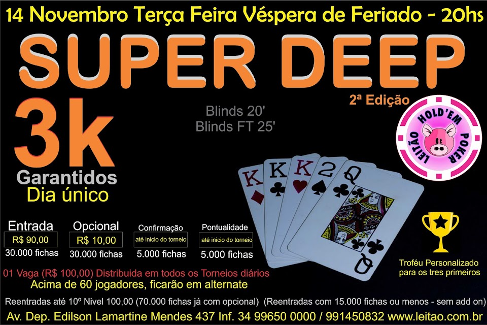 TORNEIO SUPER DEEP