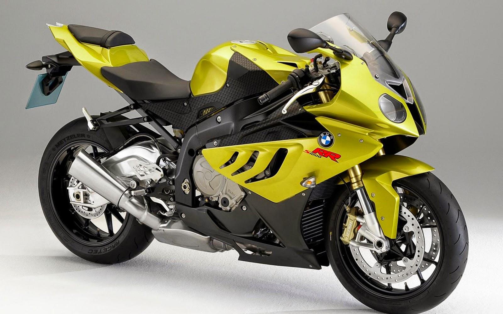 Bmw Yellow Very Successful Stylish Bike Great Looks