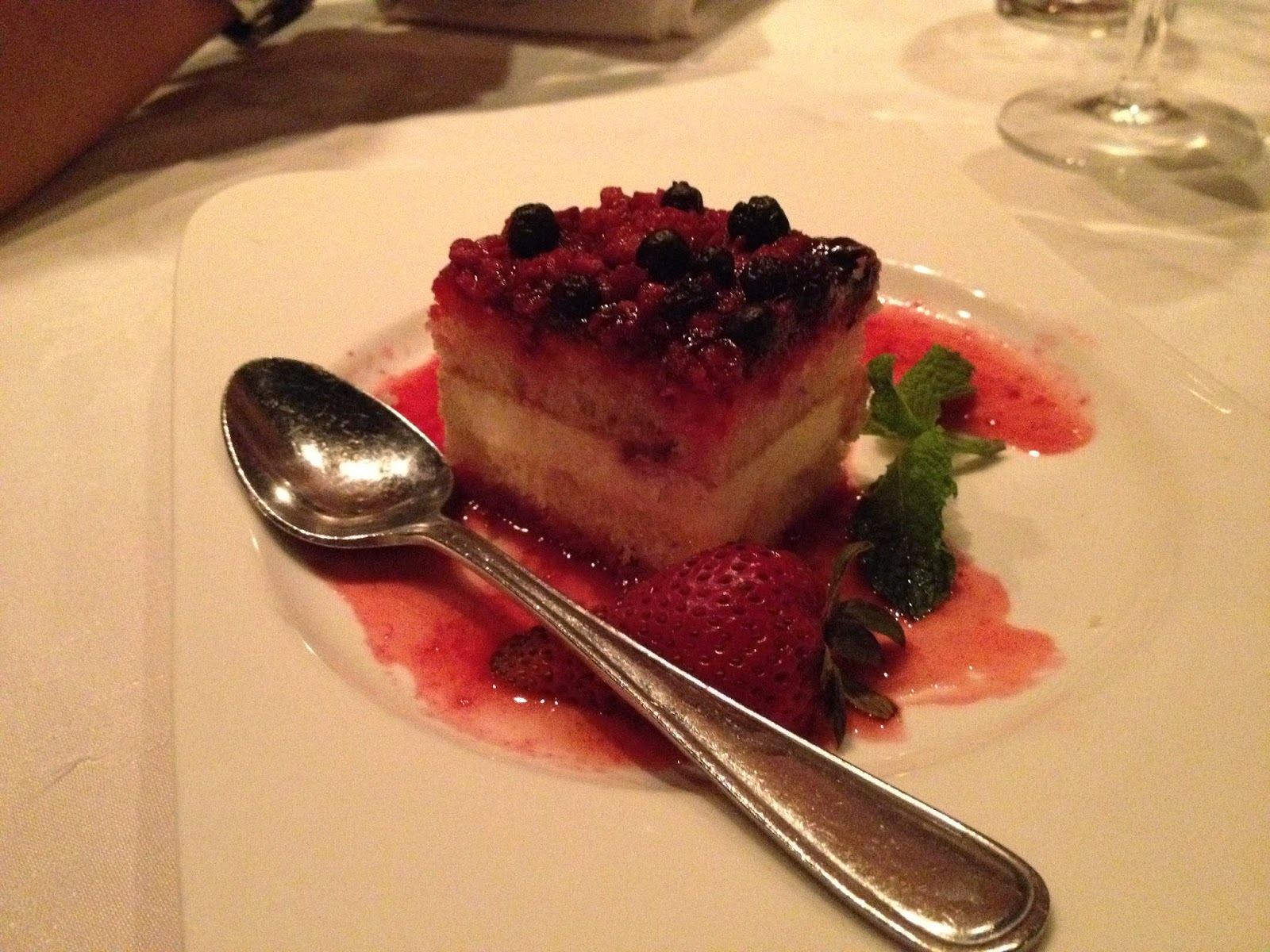 Mixed berry shortcake from Fred's Not Here