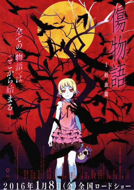 Kizumonogatari Poster