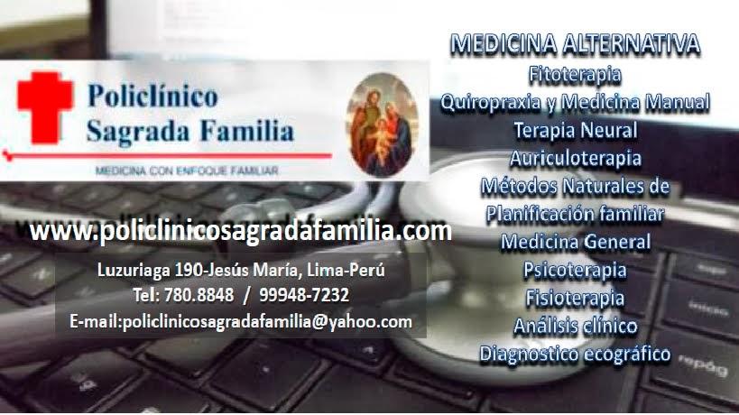 BOLETIN SAGRADA FAMILIA