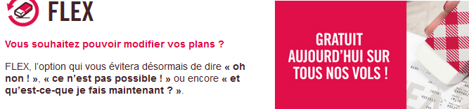 Volotea option Flex