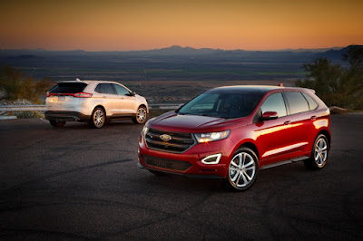 2015 Ford Edge Awarded Top Safety Rating