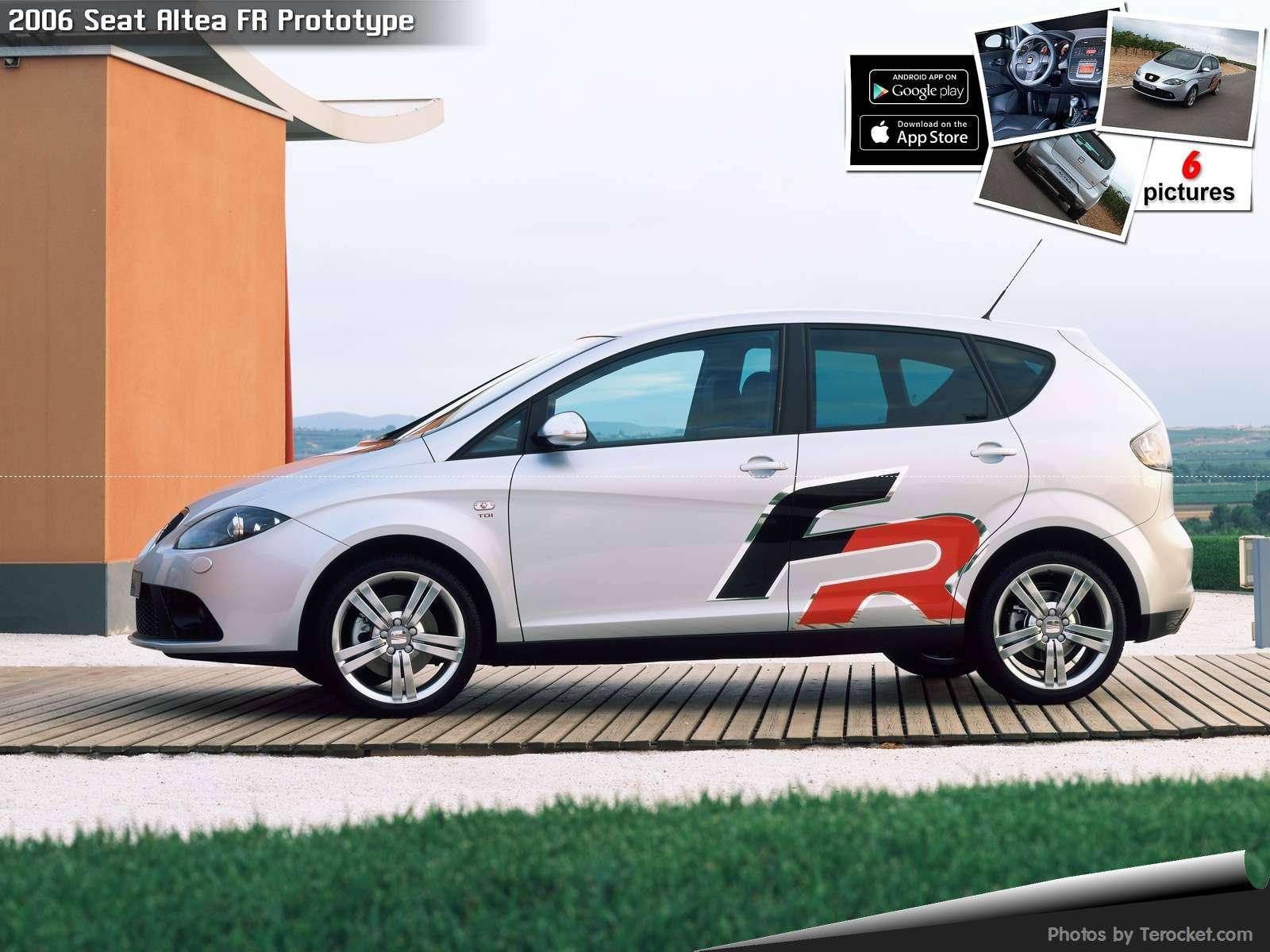 Hình ảnh xe ô tô Seat Altea FR Prototype 2006 & nội ngoại thất Photos
